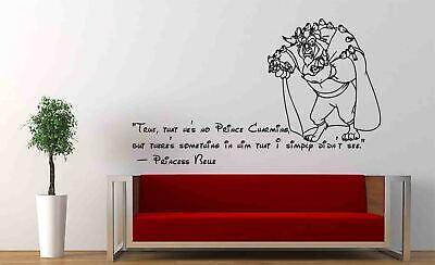 walt disney quotes wall decal cartoon beauty and beast vinyl