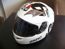 """VALENTINO ROSSI AGV Ti-Tech """"Che Spettacolo"""" Phillip Island 2004 Replica Helmet"""
