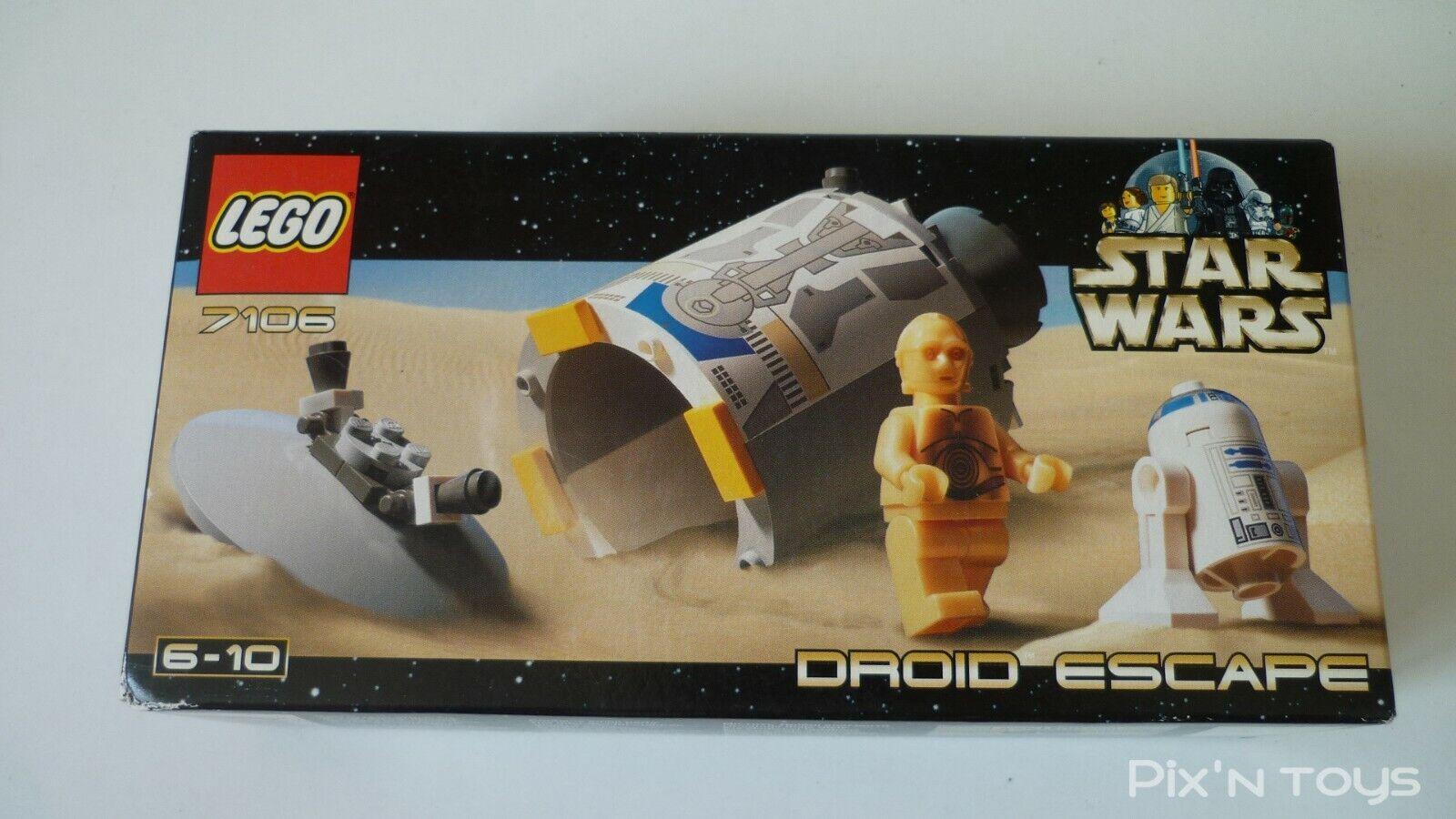 Lego Stern Wars 7106 Droid Escape