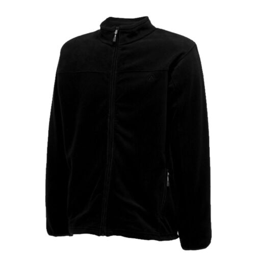 Dare2b Mens Fleece On Set Thin Lightweight Hiking Outdoor Work Full Zip Black