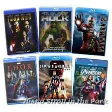 Marvel Cinematic Universe MCU Phase 1 Avengers Assembled Box / BluRay Set(s) NEW