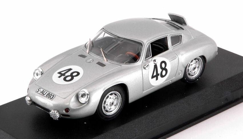 Porsche Carrera Abarth  48 7th 12 H Sebring 1962 GURNEY Holbert 1 43 MODEL