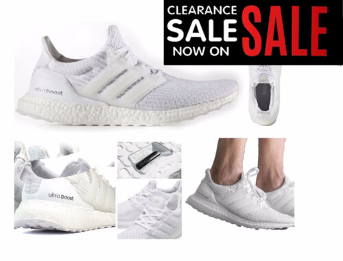 ADIDAS ULTRA BOOST WHITE WHITE 3.0 Trainers shoes 2017 NEW sizes 7 8 9 10 11 12