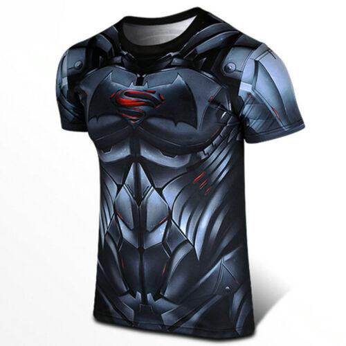 2016 Batman Vs Superman T-shirt super héros DC 3D Dawn of Justice Cool T-shirts