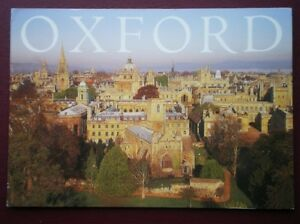 POSTCARD-OXFORDSHIRE-OXFORD-DAWN-OVER-THE-DREAMING-SPIRES