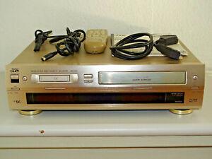 JVC-HR-DVS1-miniDV-S-VHS-Videorecorder-inkl-FB-amp-BDA-2-Jahre-Garantie