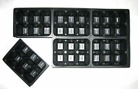 Seed Starting Tray Inserts, 180 Deep Cells, Growing Supply, Propagation 5 Trays