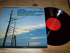 "The SUPER ANALOGUE Disc JAPAN 12"" LP Mahler Das Lied Von Der Erde Bernstein MINT"