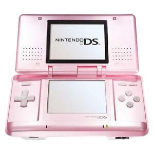 nintendo ds original candy pink handheld system 4902370509908 ebay. Black Bedroom Furniture Sets. Home Design Ideas