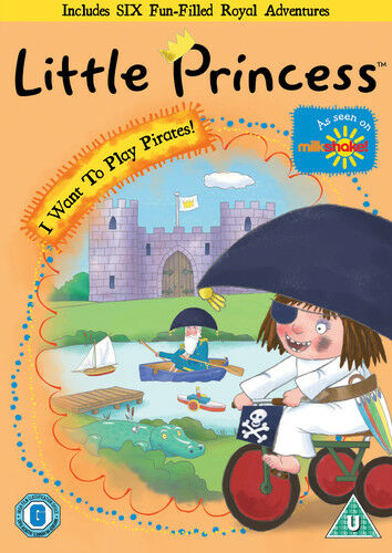 Little Princess: I Want to Play Pirates DVD (2013) Julian Clary ***NEW***