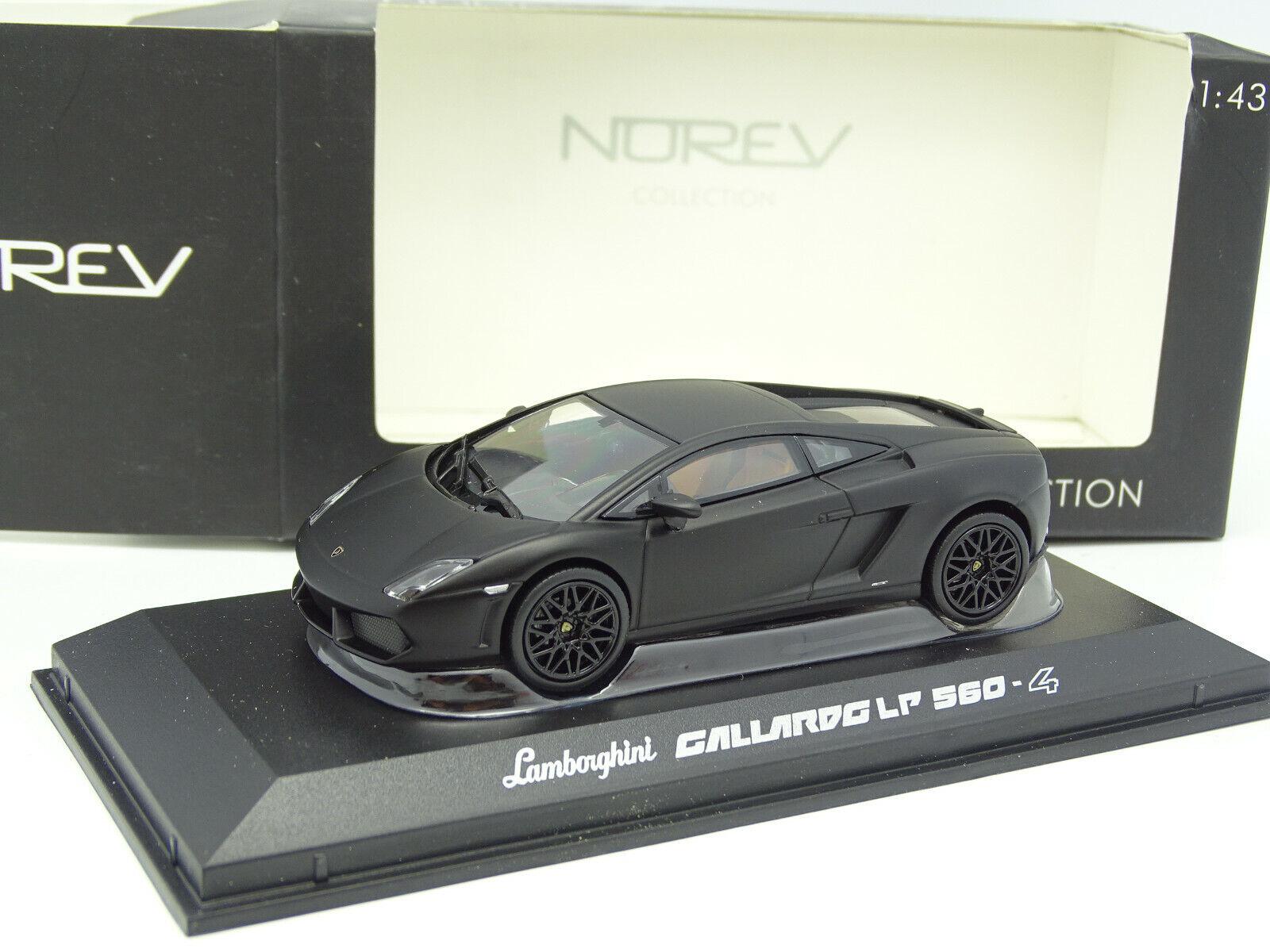 Norev 1 43 - Lamborghini Gallardo LP 560 4 Matte Black
