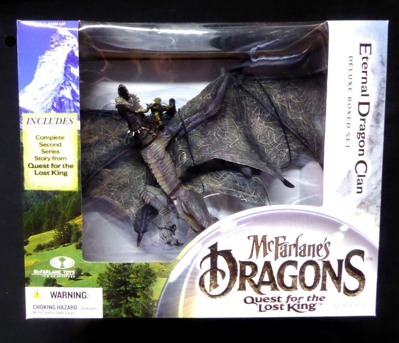 Drachen - serie 2 verloren könig den ewigen drachen box neu versiegelt mcfarlane spielzeug.
