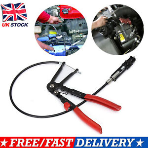 FLEXIBLE-LOCKING-HOSE-CLAMP-PLIER-FUEL-PIPE-CLIPS-CAR-BRAKE-TOOL-LONG-REACH-UKME