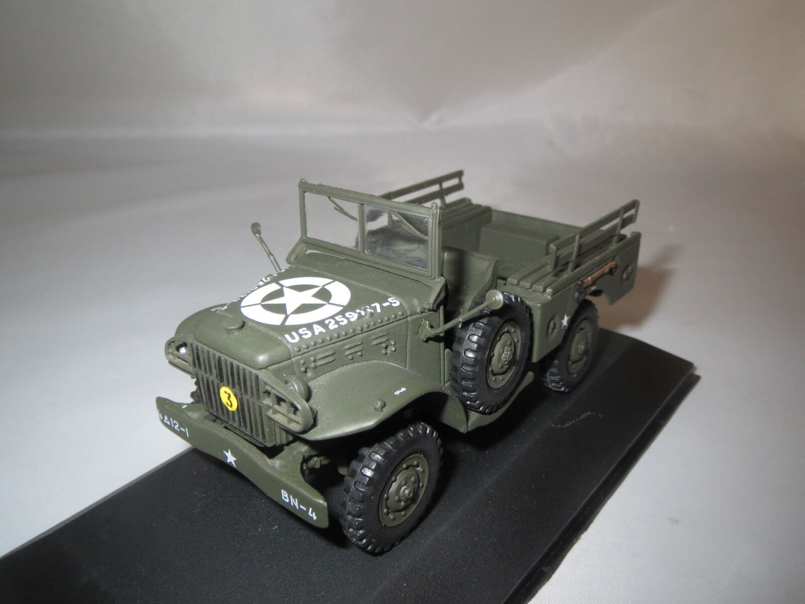 Victoria r046 DODGE wc51 weapons Carrier Open u.s. Army 1 43 OVP