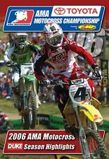 AMA Motocross Championship - Official review 2006 (New DVD) Carmichael Stewart