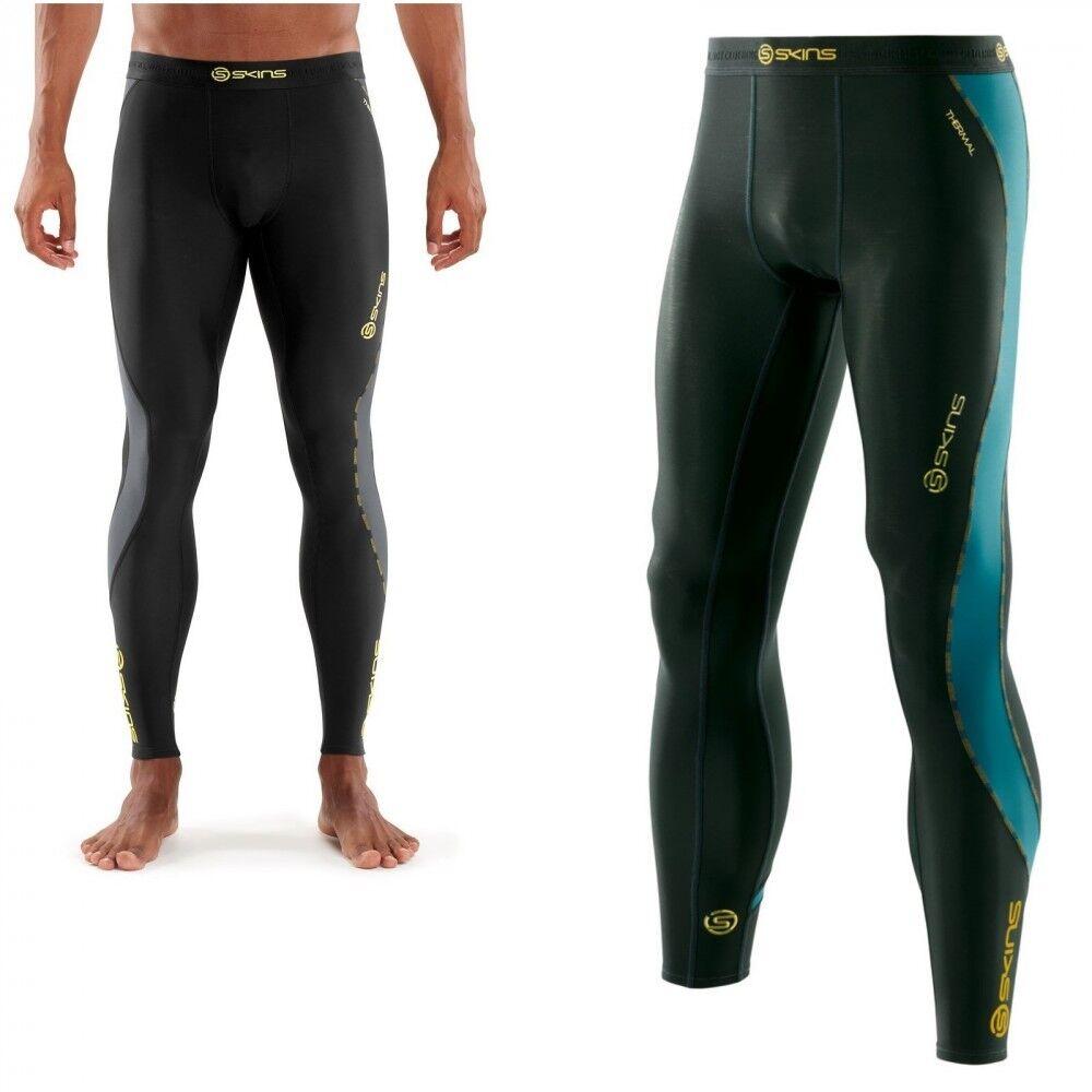 Skins Dynamic Compression Thermal Long Tight Herren gefütterte Lauf und Fitness  | Haltbarkeit