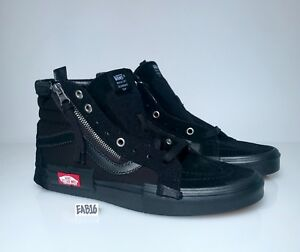 19ac49f206 Vans Sk8-Hi Cap LX Reissue Ca Checkerboard Ttiple All Black ...