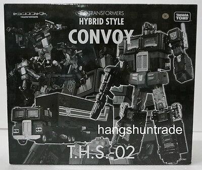 Takara Transformers Hybrid Style Convoy THS-02 Optimus Prime Limited Black Ver