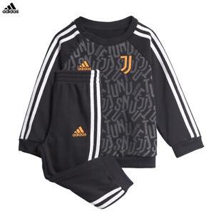 Dettagli su Juventus Tuta Baby Jogger Allenamento adidas Nera Campionato 2020/21 Bambino