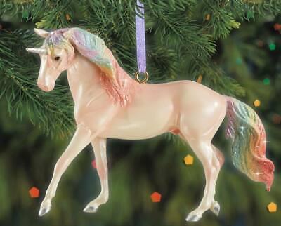 BREYER MAJESTY UNICORN ORNAMENT #700651 STABLEMATE SIZE UNICORN SPANISH HORSE