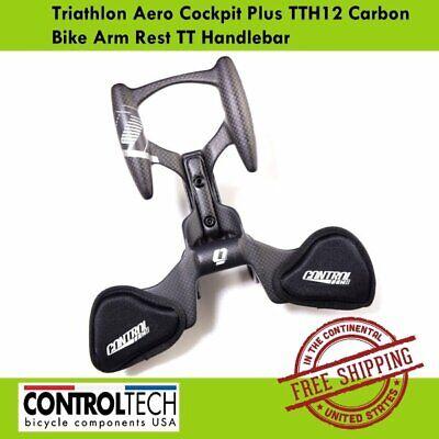New CONTROLTECH Aero Cockpit Plus Road Bike Bicycle Handlebar 31.8mm Carbon