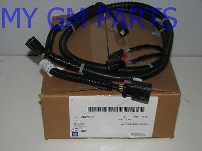 OEM Back Up Sensor Electrical Wire Harness 07-14 Cadillac Chevrolet GMC 22899761