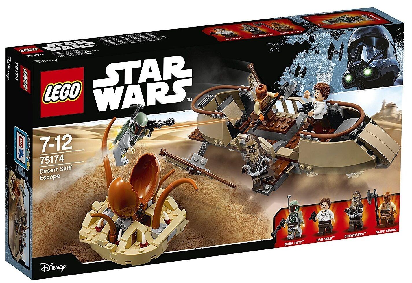 Huida del Esquife del Desierto - LEGO STAR WARS 75174 - NUEVO
