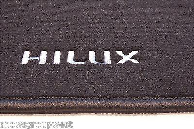 Original Toyota Car textiles alfombrillas Hilux 0511 /& Gt Nuevo antracita pz49c-np352-na