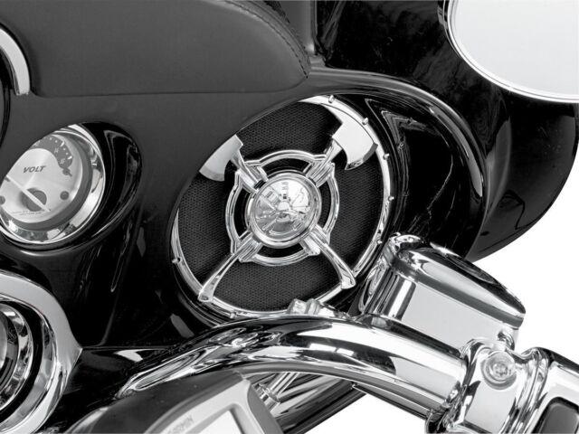 Kuryakyn Firefighter Speaker Grills Harley FLHT/X 3753 41-9049 4405-0248 3753