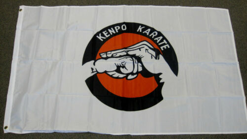 3X5 KENPO KARATE FLAG MARTIAL ARTS FLAGS NEW MMA F496
