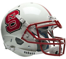 NC STATE WOLFPACK SCHUTT XP AUTHENTIC FOOTBALL HELMET