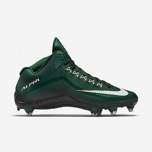 Discount Men Nike Alpha Pro 2 3 4 D 705409-310 Deep Forest Black White For Sale