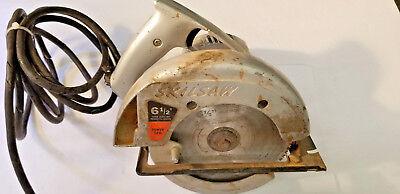 Rare Vintage Skilsaw Electric 6 1 2 Circular Saw Type 3 Model 534 Ebay
