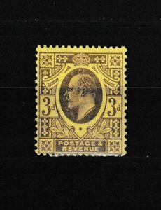 S35782-UK-Great-Britain-1902-MNH-Kevii-3p-111