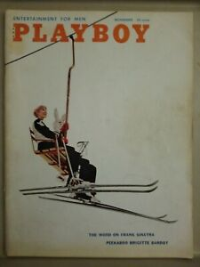 Playboy-November-1958-Very-Good-Condition-Free-Shipping-USA