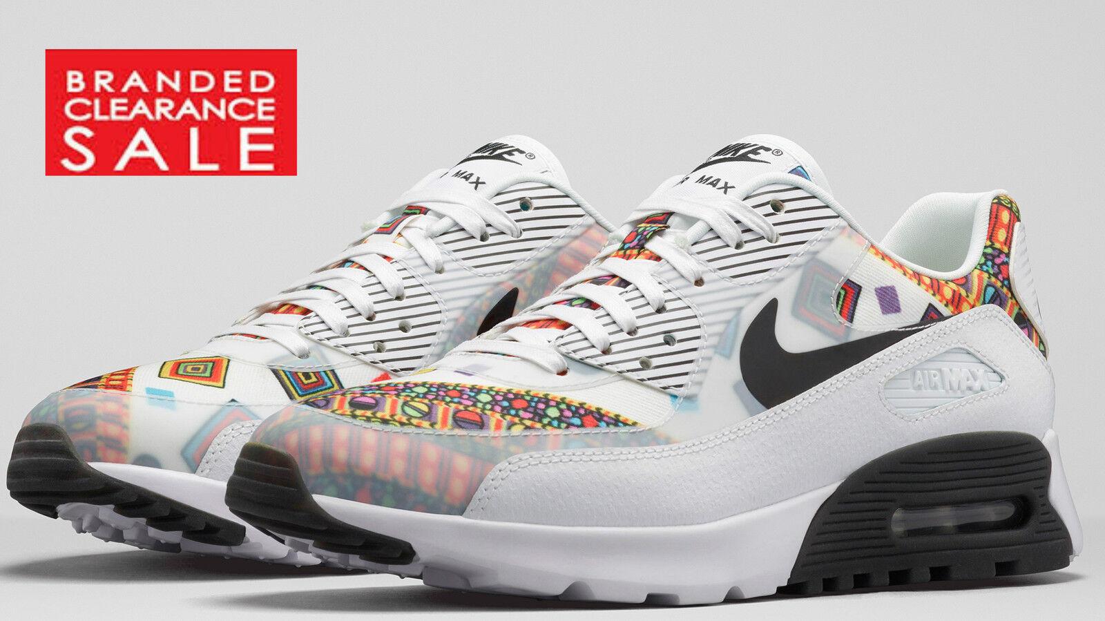 Bnwt Nuovo Donna Bianco Nike Air Max 90 Ultra Liberty 6 QS Taglia 5 e 6 Liberty 99dde5