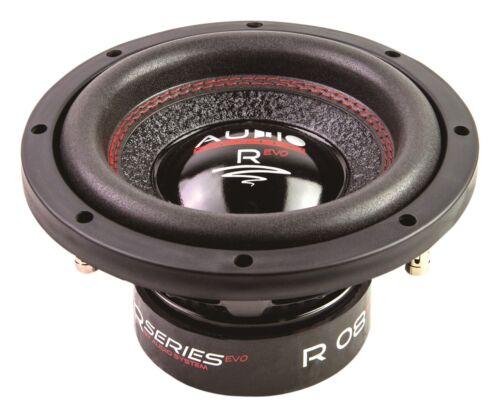 "AUDIO SYSTEM R-08 EVO 20cm Subwoofer 2x 250 Watt Auto Woofer 8/"" R08 500"