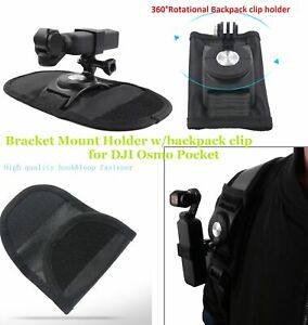 Para OSMO Pocket Handheld Stabilizer Holder Clip de soporte de mochila