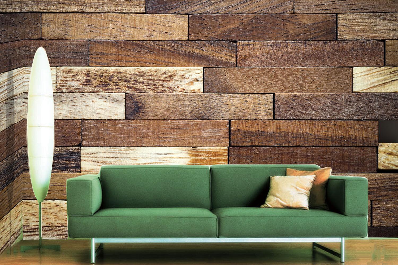 3D Brown Wood Board 9 Wall Paper Murals Wall Print Wall Wallpaper Mural AU Lemon