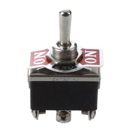 15A 12V Selector de encendido/apagado/Encendido/Apagado Interruptor Nuevo P4L9