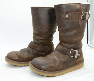 8370c62d98b Details about UGG Australia Women's Kensington #5678 Sheepskin Leather  Winter Boots Sz 7