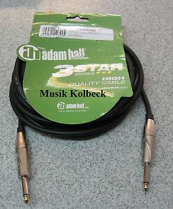 Adam-Hall-Kabel-3-Star-Serie-Instrumentenkabel-6m-6-3-mm-Klinke-K3IPP0600