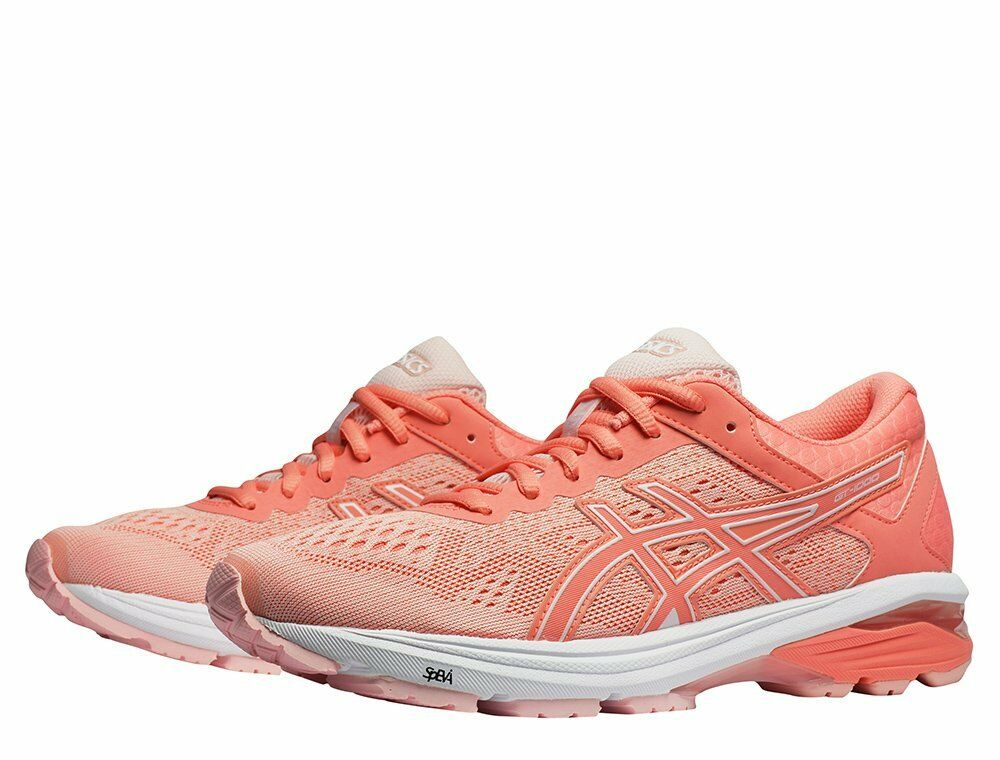Asics Women's GT 1000-6 Running NEW AUTHENTIC Seashell Pink White T7A9N-1706