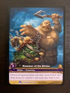 EA Extended Art Call of the Grove World of Warcraft WoW TCG Promo