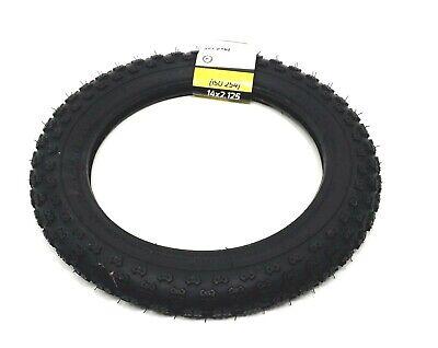 """14/"""" x 2.125/"""" Black Bike Tire"""