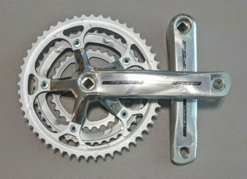 FSA Tempo Triple Ring JIS Crankset 175mm 30T//42T//52T Silver CS3