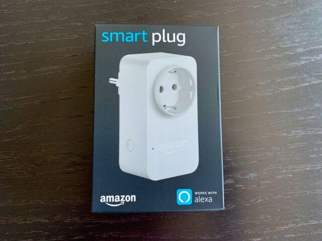 2x amazon smart plug wlan steckdose funktionert mit alexa g nstig kaufen ebay. Black Bedroom Furniture Sets. Home Design Ideas