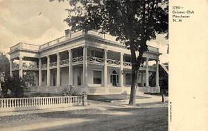MANCHESTER, NH New Hampshire CALUMET CLUB c1910's Postcard