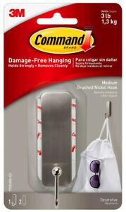 3M-Command-Medium-Brushed-Nickel-Decorative-Hook-Damage-Free-Hanging