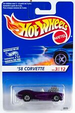Hot Wheels Int'l 1995 Model Series #3 '58 Corvette Coupe Gray Engine w/7SP's